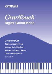 Digital Grand Piano - AV-Projektering