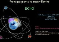 from gas giants to super-Earths