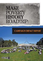 CAMPAIGN IMPACT REPORT - The Oaktree Foundation