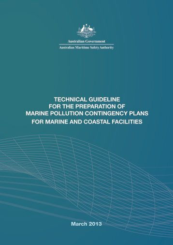 Contingency Planning Guidelines - Australian Maritime Safety ...