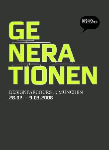 ge nera tionen - Designparcours