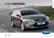 Ford MONDEO - Autoluttre