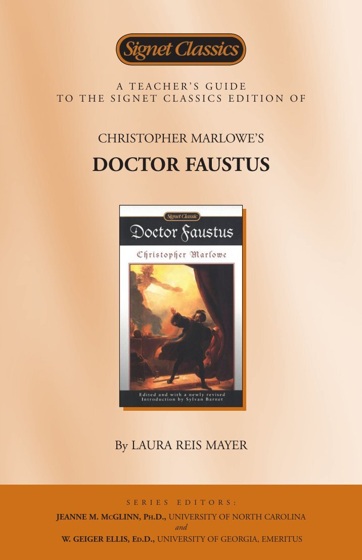 an analysis of the character of faustus by doctor faustus by christopher marlow From a general summary to chapter summaries to explanations of famous quotes, the sparknotes doctor faustus study guide has everything you need to ace quizzes, tests.
