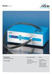 Produktinformation bluepoint 4 - Dr. Hönle AG