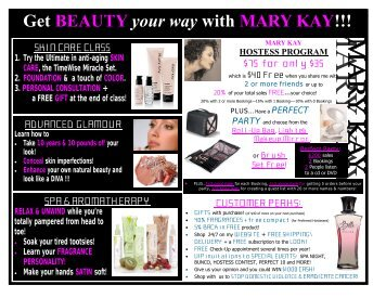 get beauty your way with mary kay