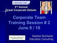 Training Session 2 - Amcham Chile