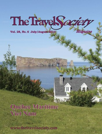 Vol. 29 No. 6 July/August 2010 - The Travel Society