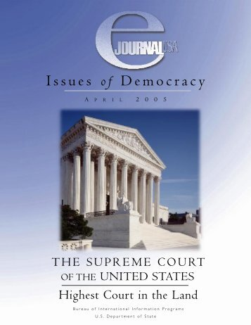 Issues of Democracy - Embassy of the United States