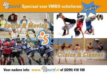 Clinics & Classes Sports & Moving - Spurd