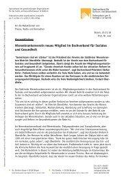 Nierenkrankenverein neues Mitglied im Dachverband für Soziales ...