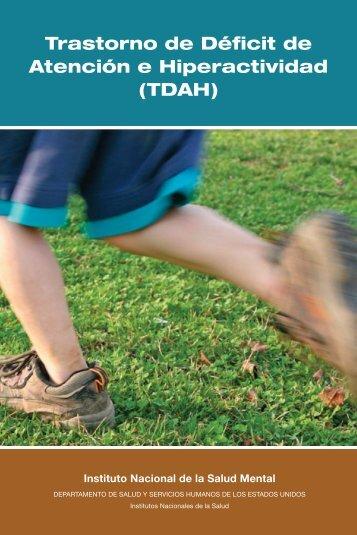 Trastorno de Déficit de Atención e Hiperactividad (TDAH) - NIMH