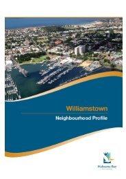 Williamstown Profile - Full report - Hobsons Bay