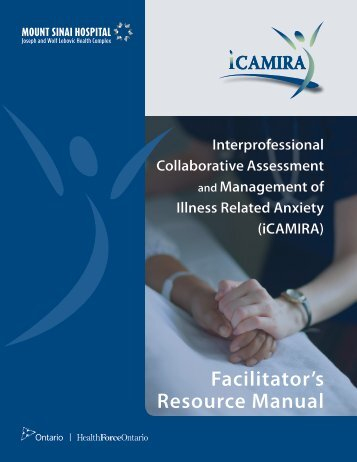 iCAMIRA Facilitator's Resource Manual - Mount Sinai Hospital