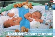 Zwei Baby-Boys und  36 Spezialisten - UniversitätsSpital Zürich