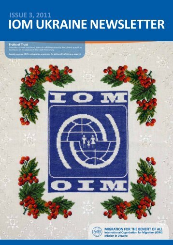 ISSUE 3, 2011 IOM UkraInE nEwSlEttEr