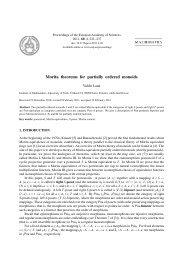 Morita theorems for partially ordered monoids - Estonian Academy ...