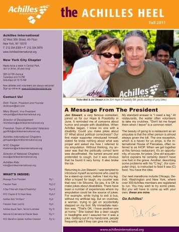 September 2011 - Achilles International