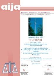 Programm - Arbeitsgemeinschaft für Internationalen Rechtsverkehr