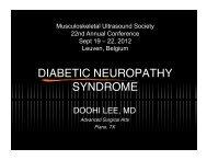 DIABETIC NEUROPATHY SYNDROME