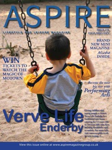 Verve Life - Aspire Magazine