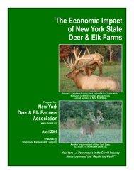 The Economic Impact of New York State Deer & Elk Farms