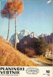 Oktober - Planinski Vestnik