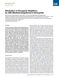 Elimination of Oncogenic Neighbors by JNK-Mediated - Biomedical ...