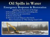 Oil Spills in Water - U.S. National Response Team (NRT)