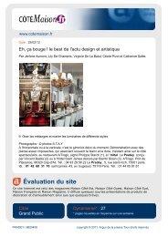 Évaluation du site - Hôtel LE PRADEY