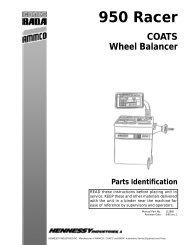 950 Racer Wheel Balancer - aesco