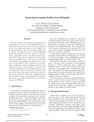 Extracting Geospatial Entities from Wikipedia - ResearchGate