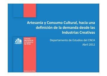 Descargar presentación - Consejo de la Cultura y las Artes