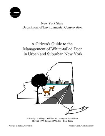 A Citizen's Guide to the Management of White-tailed Deer in Urban ...