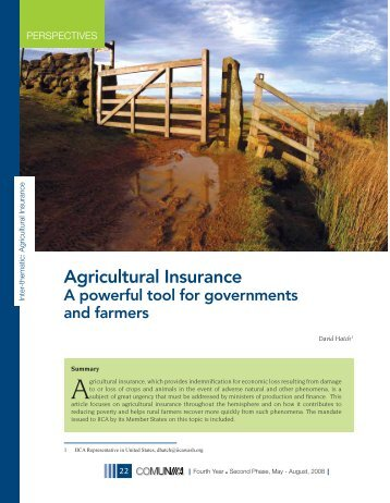 Agricultural Insurance