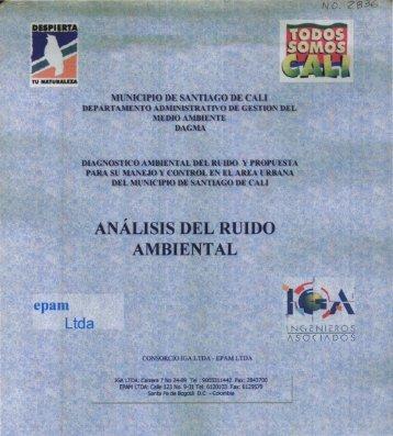 ANÁLISIS DEL RUIDO AMBIENTAL