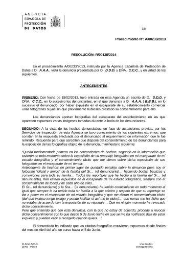 A-00233-2013_Resolucion-de-fecha-28-01-2014_Art-ii-culo-6-LOPD