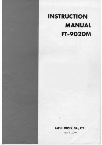 Yaesu ft 2800m users manual on