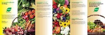 les produits biologiques de protection des plantes ... - Maag Garden