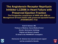 The Angiotensin Receptor Neprilysin Inhibitor LCZ696 in Heart ...