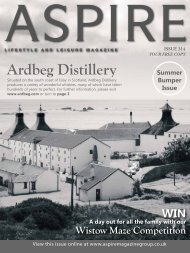 Ardbeg Distillery - Aspire Magazine