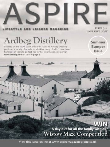 Ardbeg Distillery - Aspire Magazine