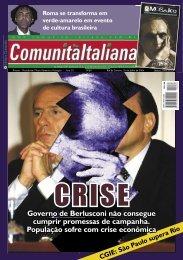 Governo de Berlusconi não consegue cumprir ... - Comunità italiana