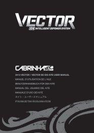 2012 VECTOR / VECTOR SE IDS KITE USER MANUAL ... - Cabrinha