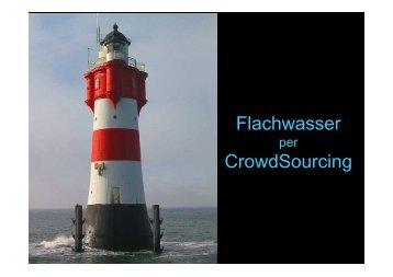 Flachwasser CrowdSourcing - OpenSeaMap