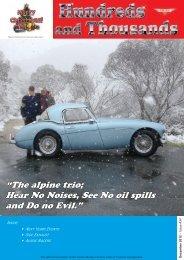 """The alpine trio; Hear No Noises, See No oil spills and Do no Evil."""