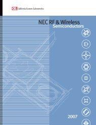 NEC RF & Wireless - California Eastern Laboratories