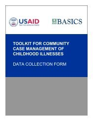 Data Collection Form - basics
