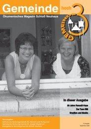 Ausgabe 5 - September 2008 - Kath. Kirchengemeinde St. Heinrich ...