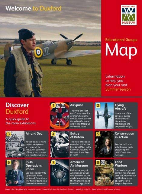Educational Groups Map - Imperial War Museum