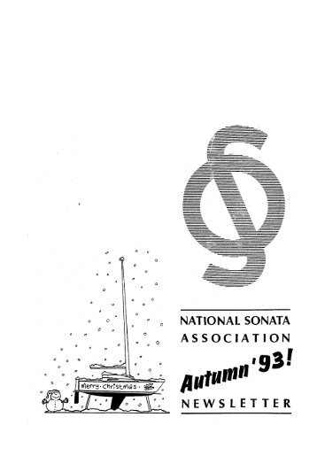 Autumn 1993 (118K) - Sonata Sailing
